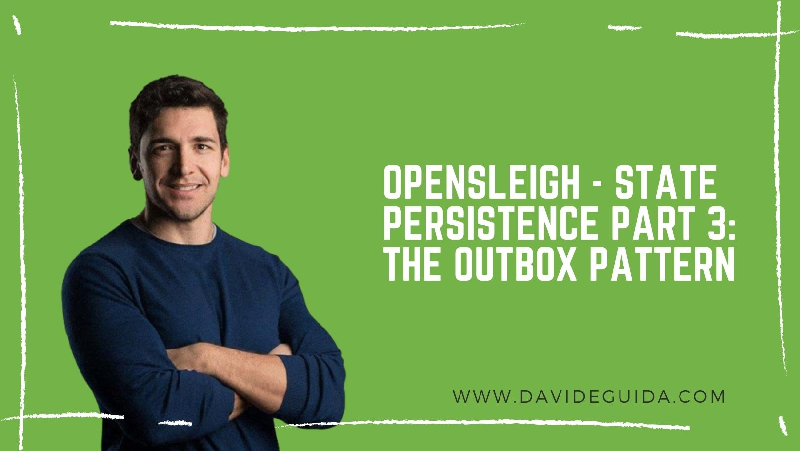 OpenSleigh – state persistence part 3: the outbox pattern