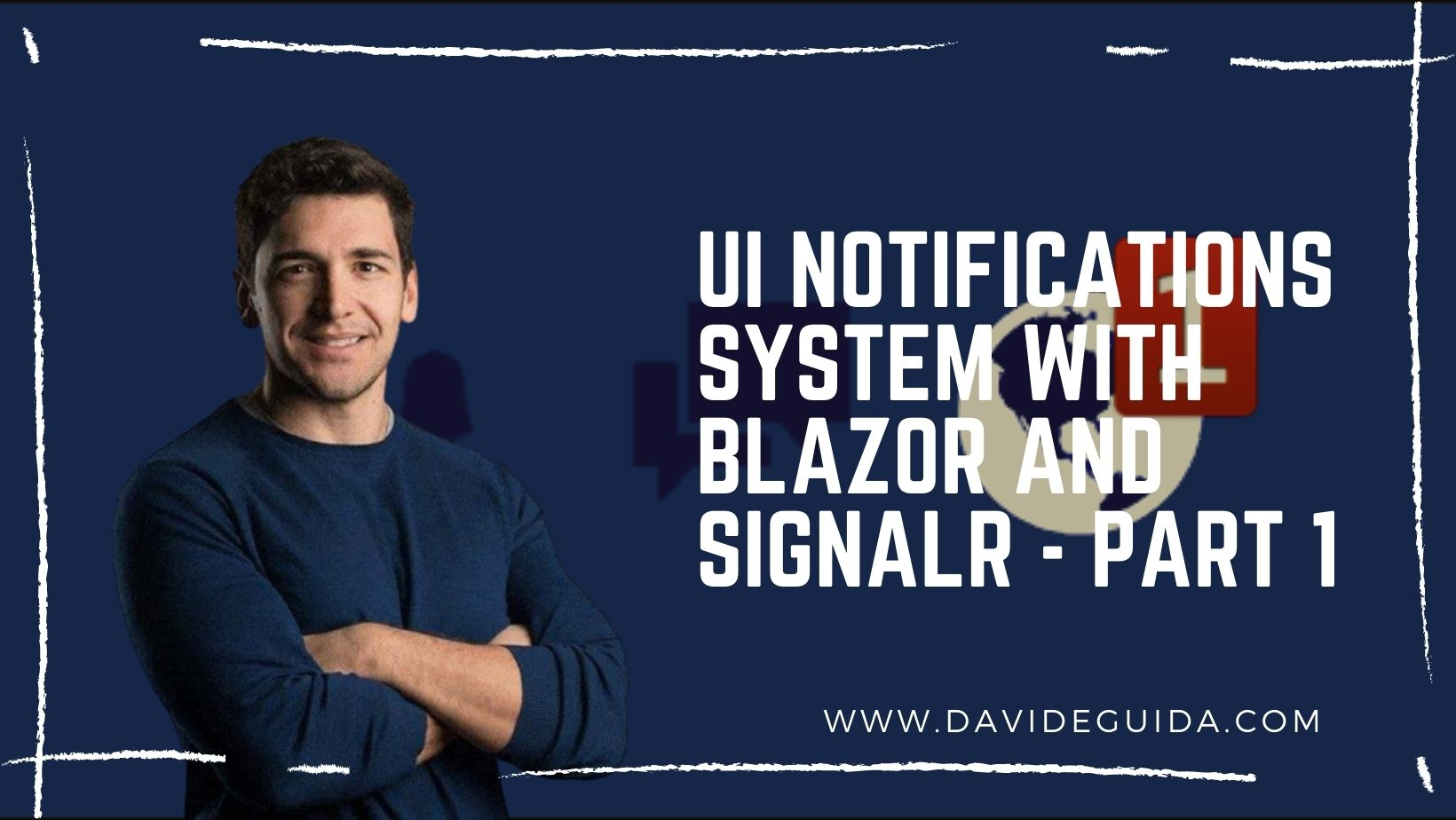 UI notifications system with Blazor and SignalR - part 1