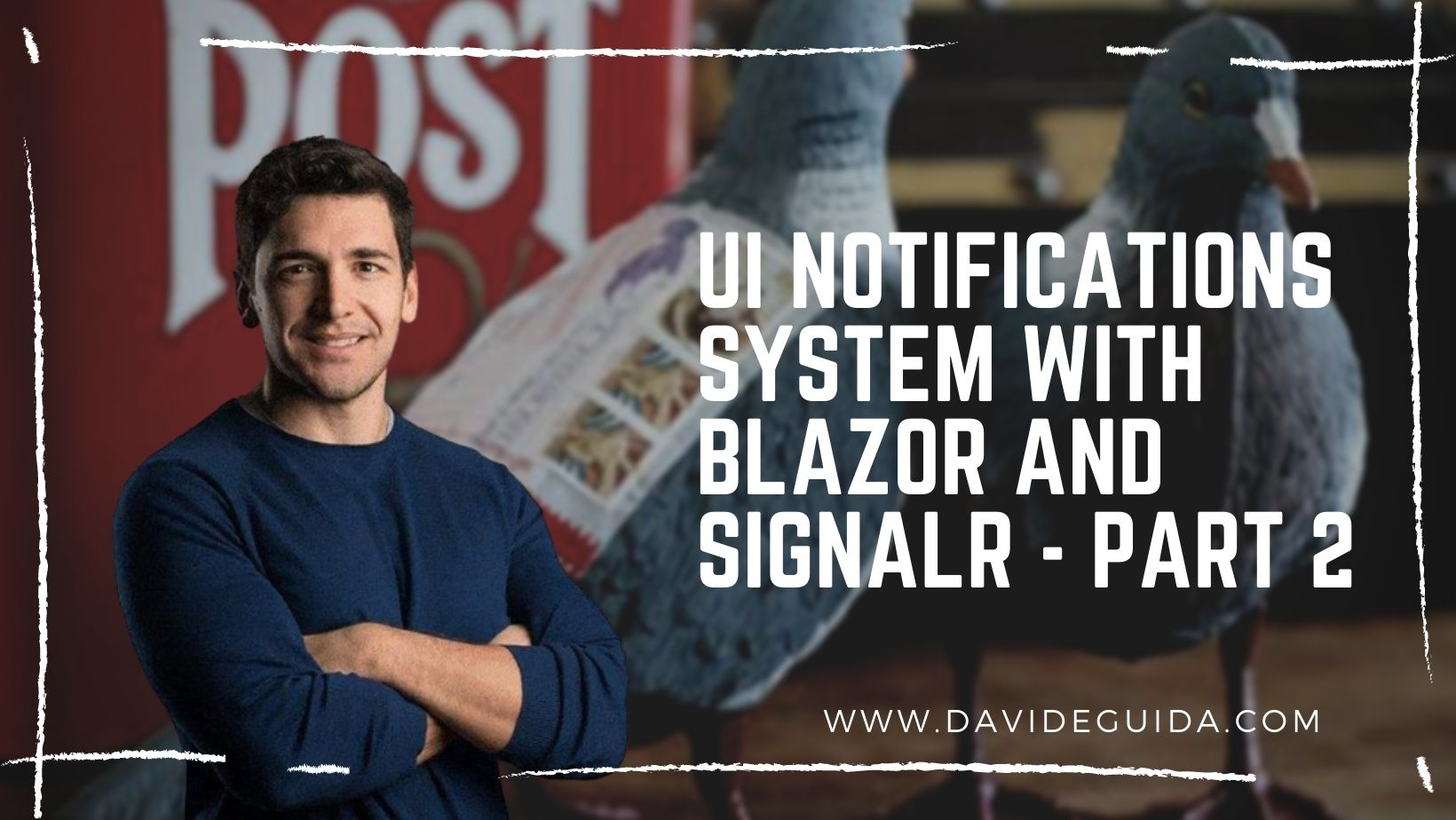 UI notifications system with Blazor and SignalR - part 2