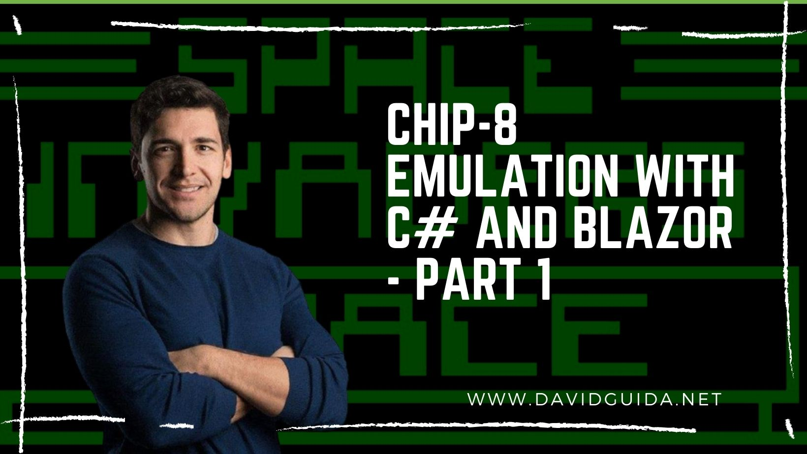 CHIP-8 emulation with C# and Blazor - part 1